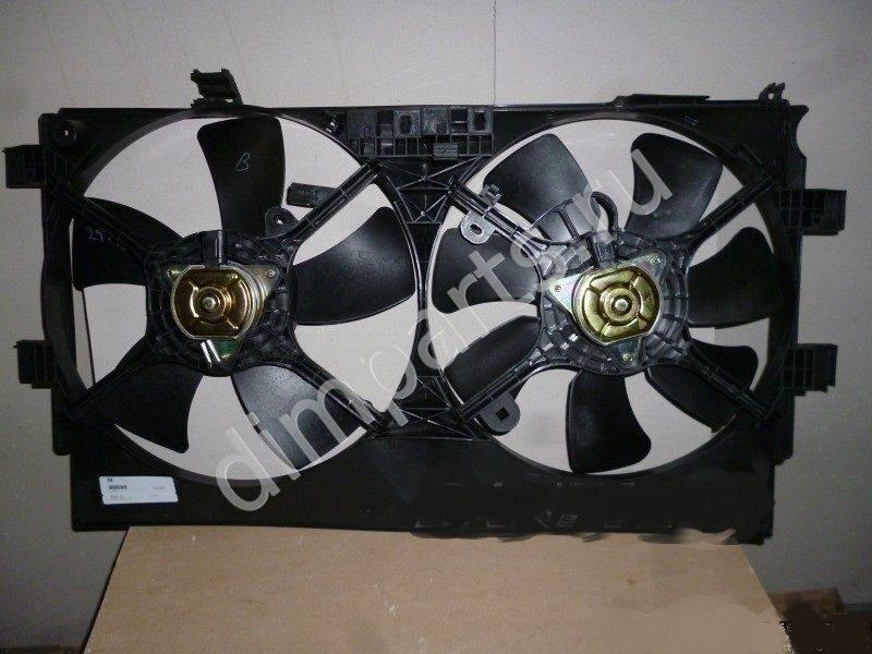 моторчик вентилятора радиатора на mitsubishi lancer x